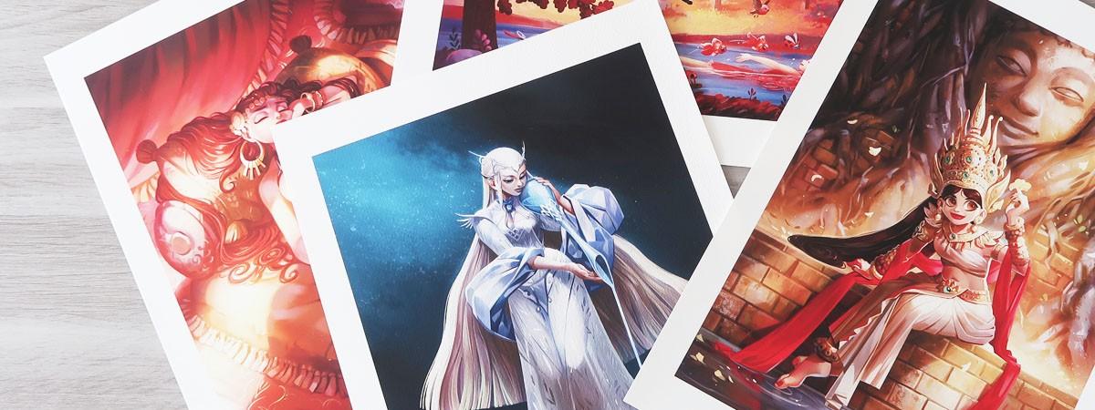 Nouveaux prints